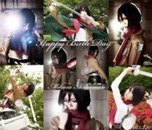HAPPY BIRTH DAY MIKASA!!