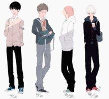 Male High School Students