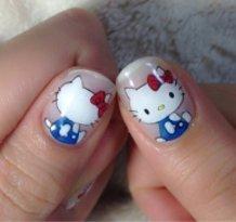 Hello Kitty Nails ♪