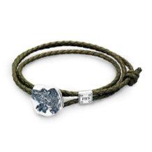 "Dr MONROE x KENJI KAMIYAMA ""Fossil of the Angel Leather bracelet / Anklet"""