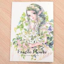 "Izumi Toyoda Illustration Collection ""Fragile Flower"""