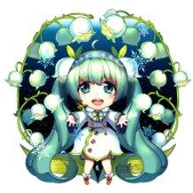 Merry Christmas - Snow Bell Miku