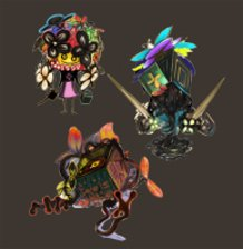 The Enemies of the Box Shrine