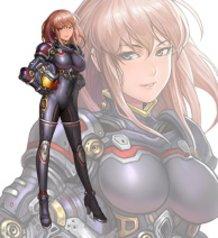 Robot Anime Type Heroine