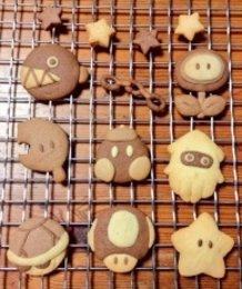 Mario Character Cookies