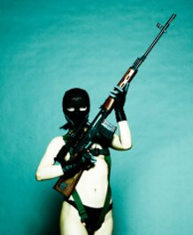 Female MSF Soldier / Naked (Unused ver.)