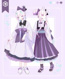 Celebrate! My Japanese-style Dress [Violet] Was Commercialized!