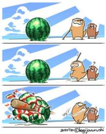 Watermelon-Splitting.