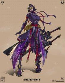 Onna Bugeisha - Serpent
