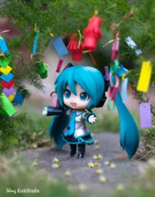 Miku on Tanabata
