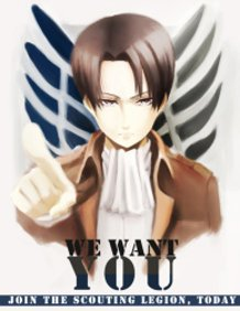 Lance Corporal Rivaille Wants YOU