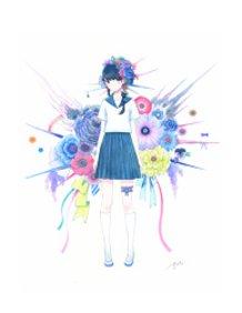 Girl Standing 2