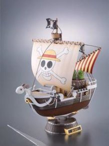 One Piece Going Merry Alloy Figure