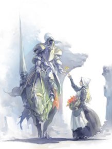 The Knight and the Flower Girl