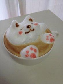 3D Animal Latte Art