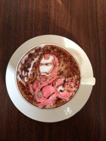 latte art~Iron Man~
