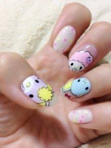 My Melody friends Nail art