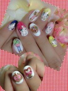 Sailor Moon Nails☆