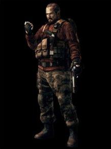 Barry Burton ★Artwork: Resident Evil: Revelations 2