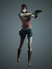 Claire Redfield ★Artwork: Resident Evil 2 (The Darkside Chronicles version)