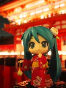 At Fushimi Inari Shrine