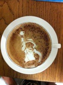 Latte art ~ONE PIECE~