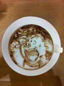 Latte art~Dragon Ball~
