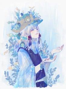 I was waiting rain