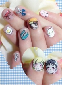 Bakemonogatari Nails !