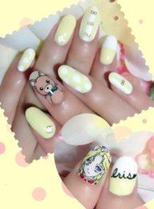 """""""Sakura Wars"""" Iris Nails"""