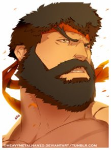 Street Fighter V-Hot Ryu