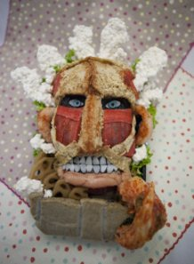 How about an Attack on Titan bento?~