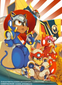 Samurai Pizza Cats!