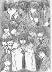 Raito Yagami Expressions.