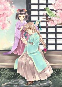 Hakama girl 袴少女