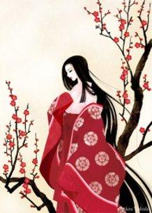 """Tale of Genji - Wakana"" Lady Murasaki"