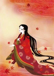 """Tale of Genji - Momiji no ha"" Lady Fujitsubo"