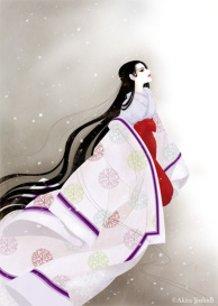 """""""Tale of Genji - Akashi"""" Lady Akashi"""