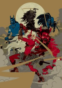 War of Red and Blue and Black