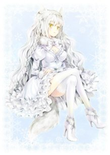 If arctic fox becomed a girl...