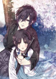 Hajime&Chiduru (Hakuouki)