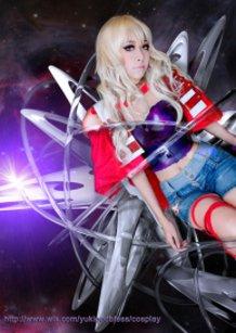 Sheryl Nome cosplay