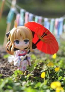 Saber Lily on Children's Day