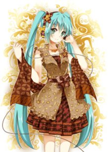 Batik Miku