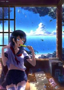 Summer School Girl