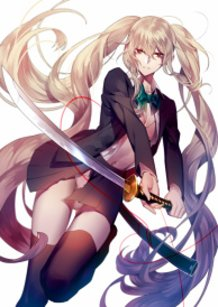 Sword-Wielding High School Girl