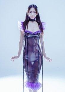 Rubber Mermaid Dress