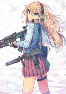 Combat High School Girl