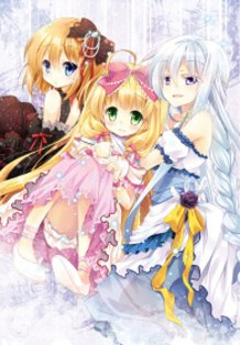 Novels Cover vol.08 from The Loli Vampire Sisters