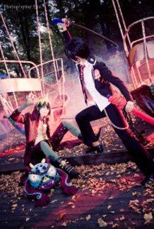 Ao no Exorcist - Amaimon and Rin